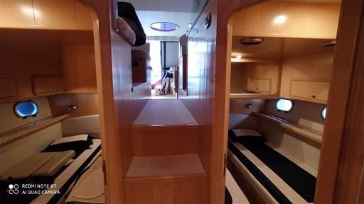 cabine gemelle doppia in piano
