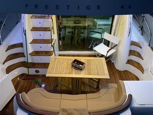 prestige 46 pozzetto
