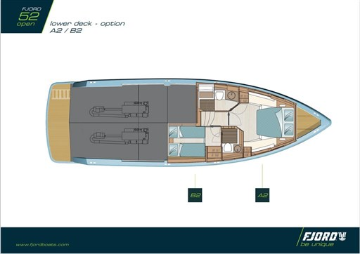 Fjord 48 OPen 2017 layout