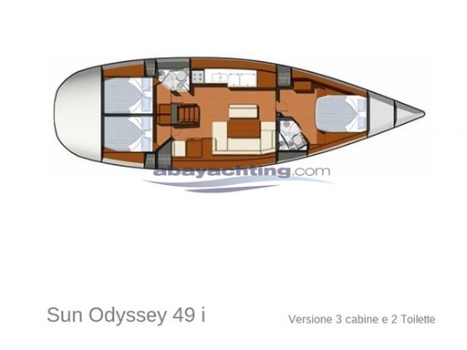 Abayachting Jeanneau Sun Odyssey 49i Performance Usato-second hand 44