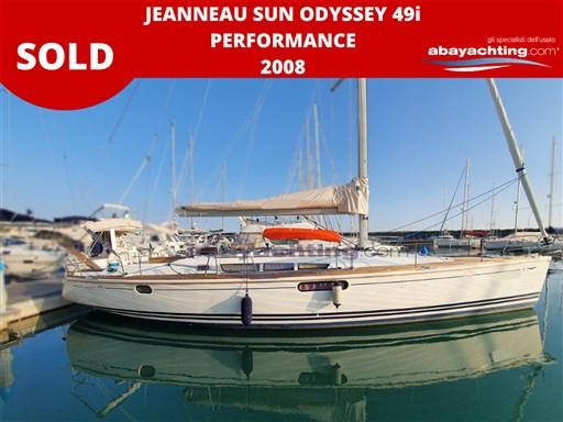 Abayachting Sold Jeanneau SuN Odyssey 49i Performance