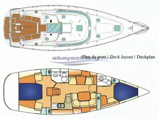 Abayachting Jeanneau Sun Odyssey 43 usato-second hand 40