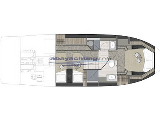 Layout Cranchi T36 Crossover