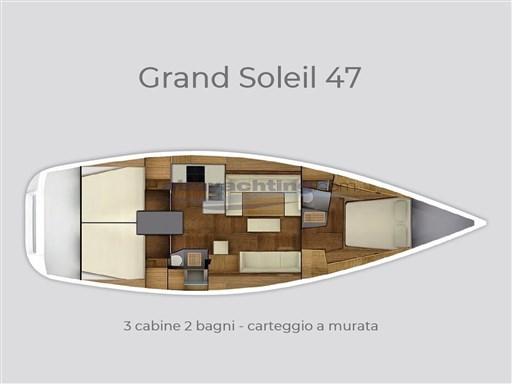 Abayachting Cantiere del Pardo Grand Soleil 47 usato 27