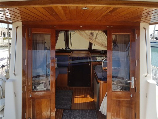 Abayachting Menorquin 120 Flybridge 16