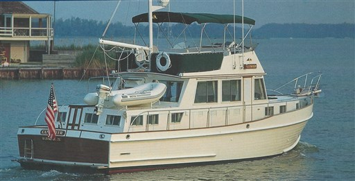Marine Project Grand Banks 46 Heritage Classic