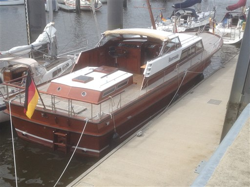 Hatecke Mahagoni Motoryacht