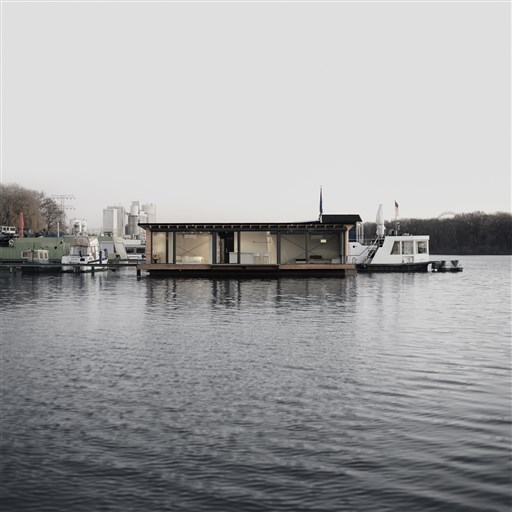 Andere Modernes Hausboot