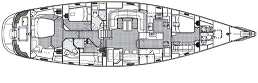 Oyster 72 Layout