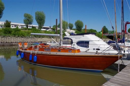 Matthiesen & Paulsen 7 Kr Mahagony Yacht