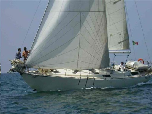 Canada Yacht Building Bruce Roberts 44 Sloop