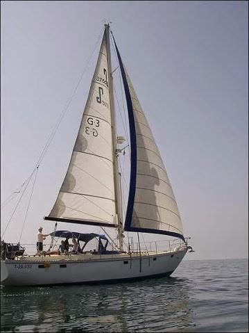 merlyn unter segel
