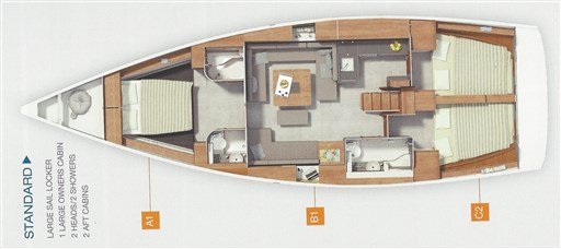 Hanse 455 msp495673 layout