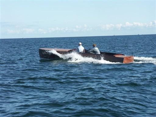Custom Line Klassisches Motorboot 1936