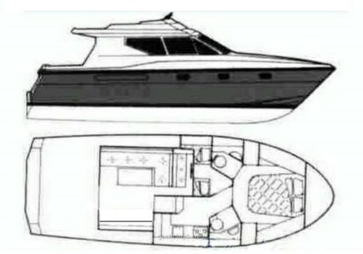 Azimut Az 35_Fly Layout