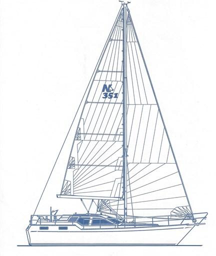 NC 351 Segelplan