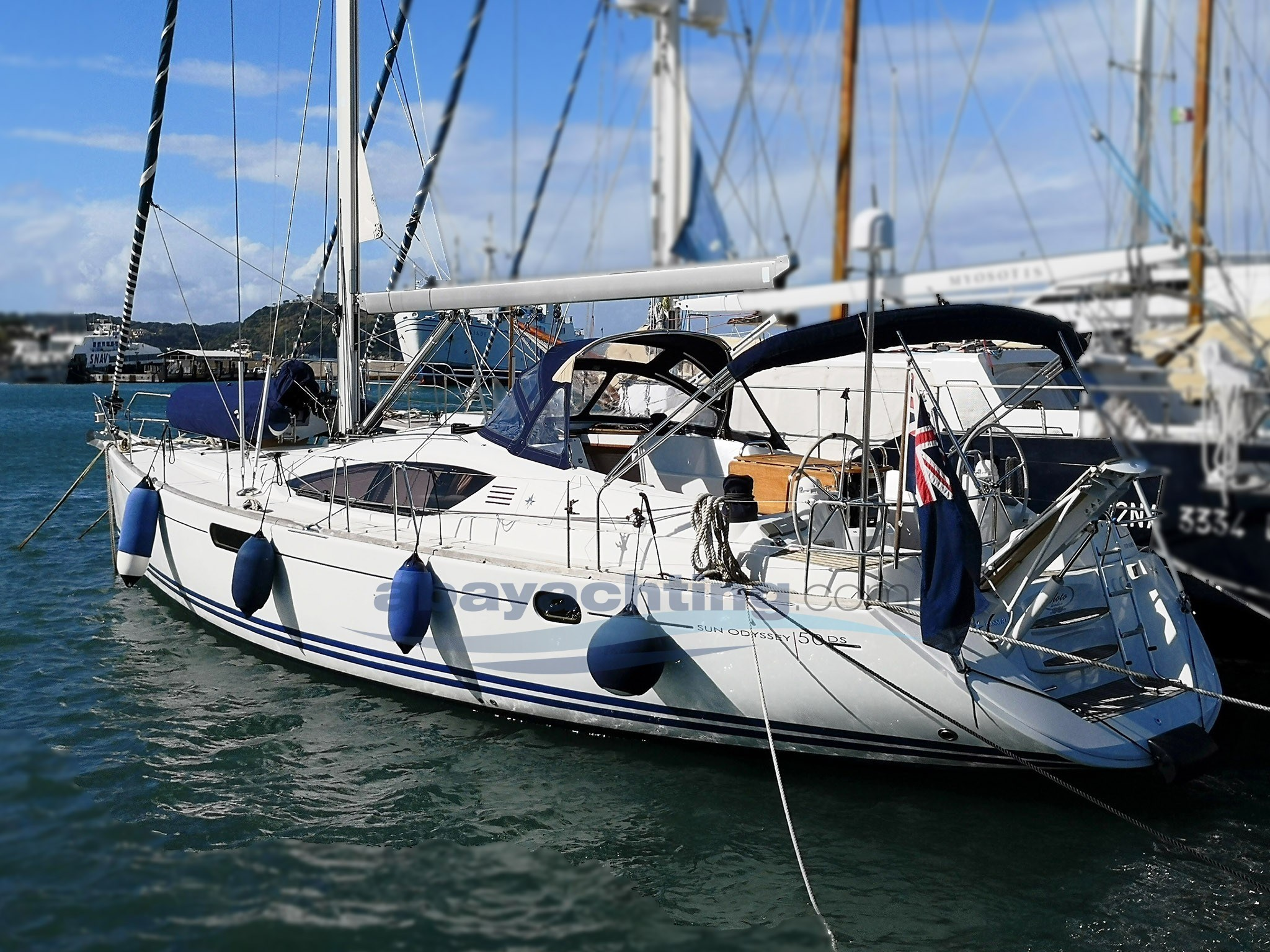 Abayachting Jeanneau Sun Odyssey 50ds usato-second hand 1
