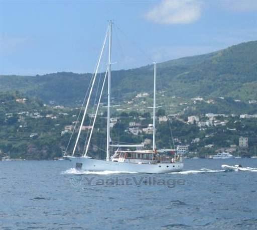 Rondolini E Figli Wooden Ketch 20 Mt Preowned Sailboat For Sale In