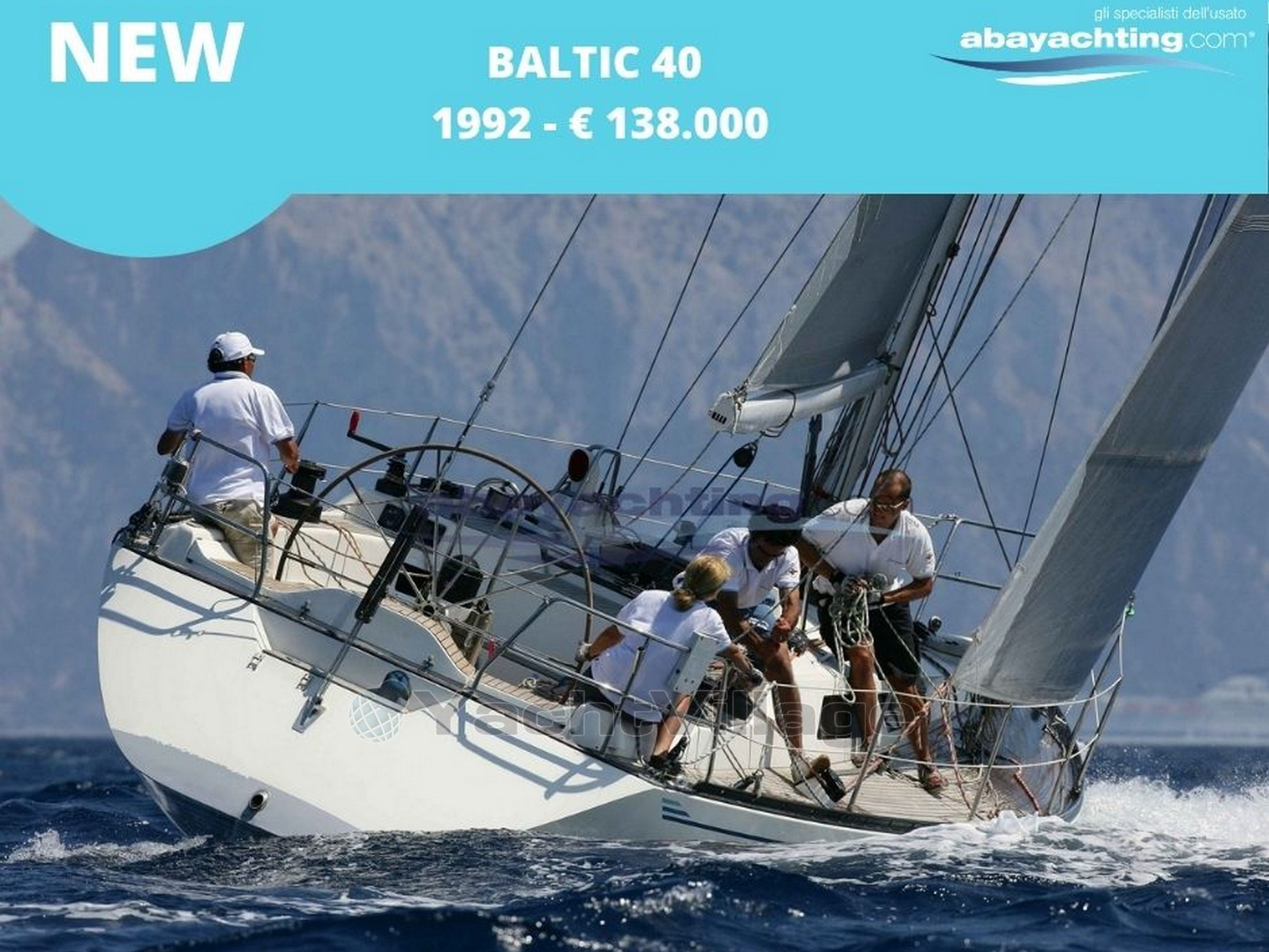 ABAYACHTING NUOVO ARRIVO BALTIC 40