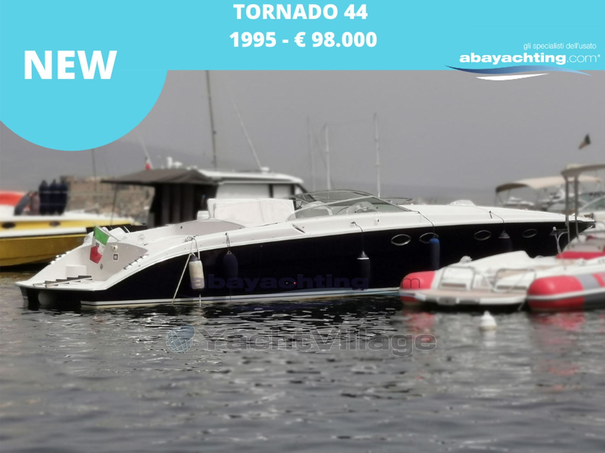 Abayachting Nuovo arrivo Tornado 44 Express