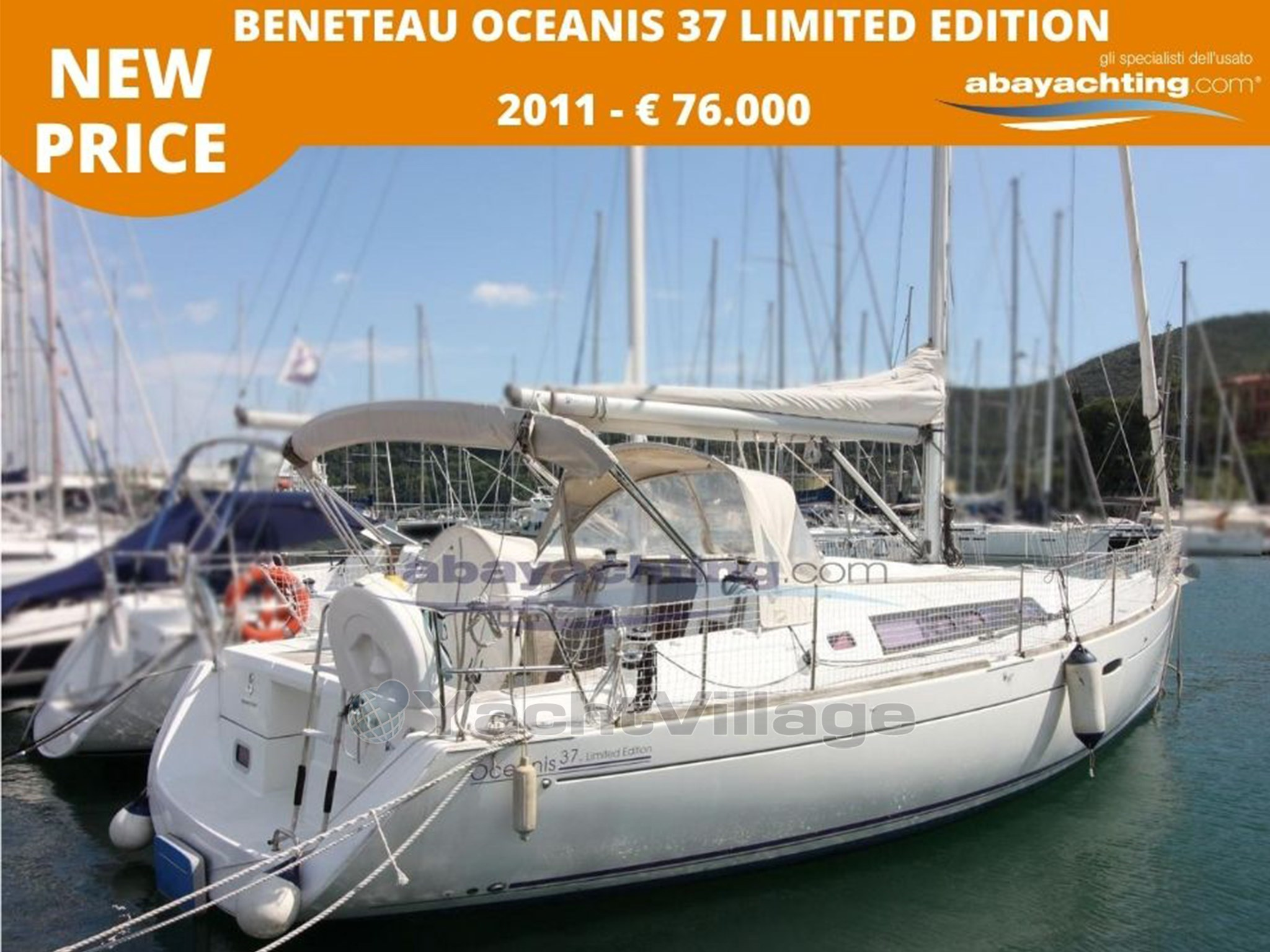 Abayachting Beneteau Oceanis 37 Limited 1