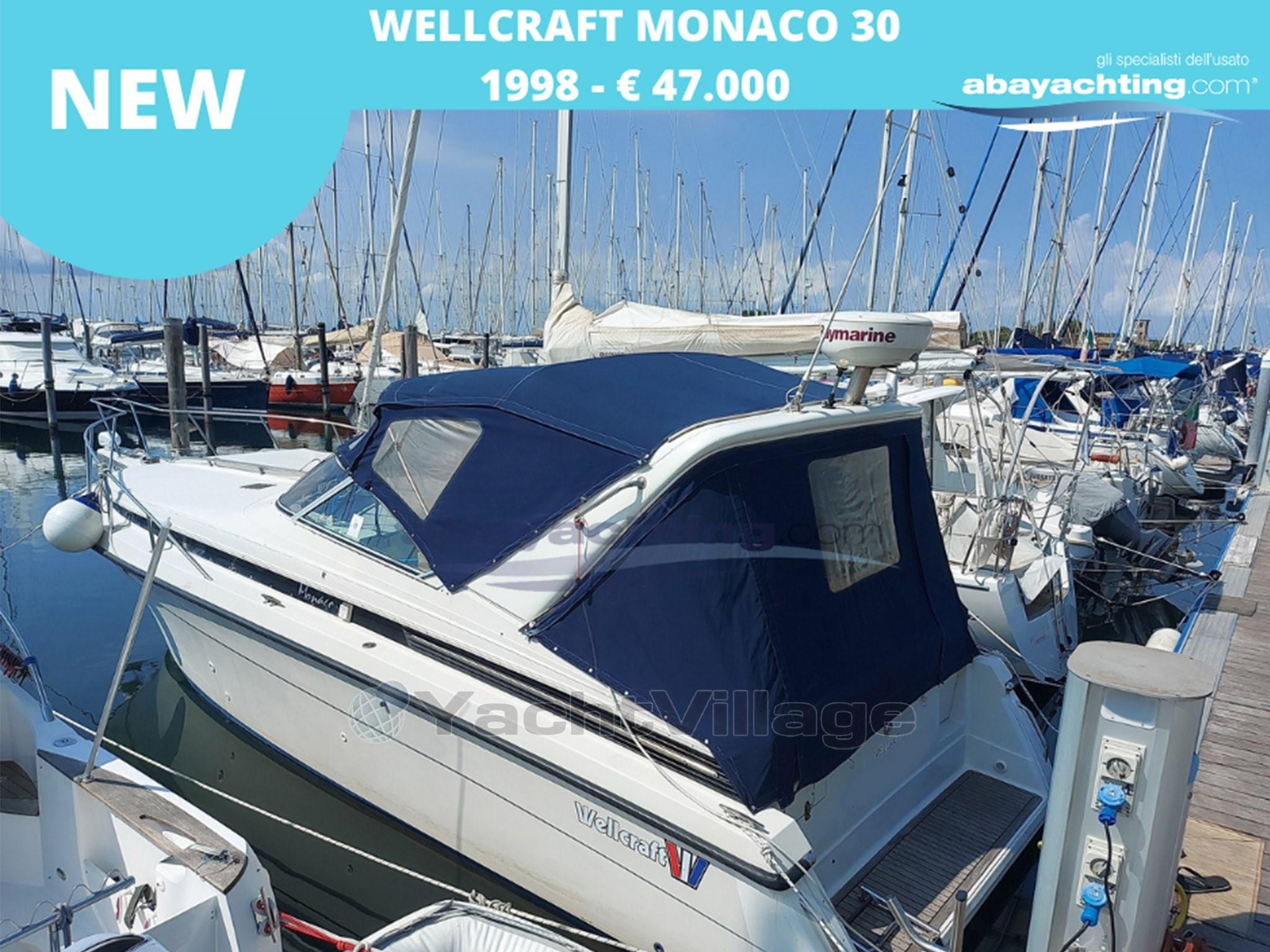 Abayachting Nuovo arrivo Wellcraft Monaco 30