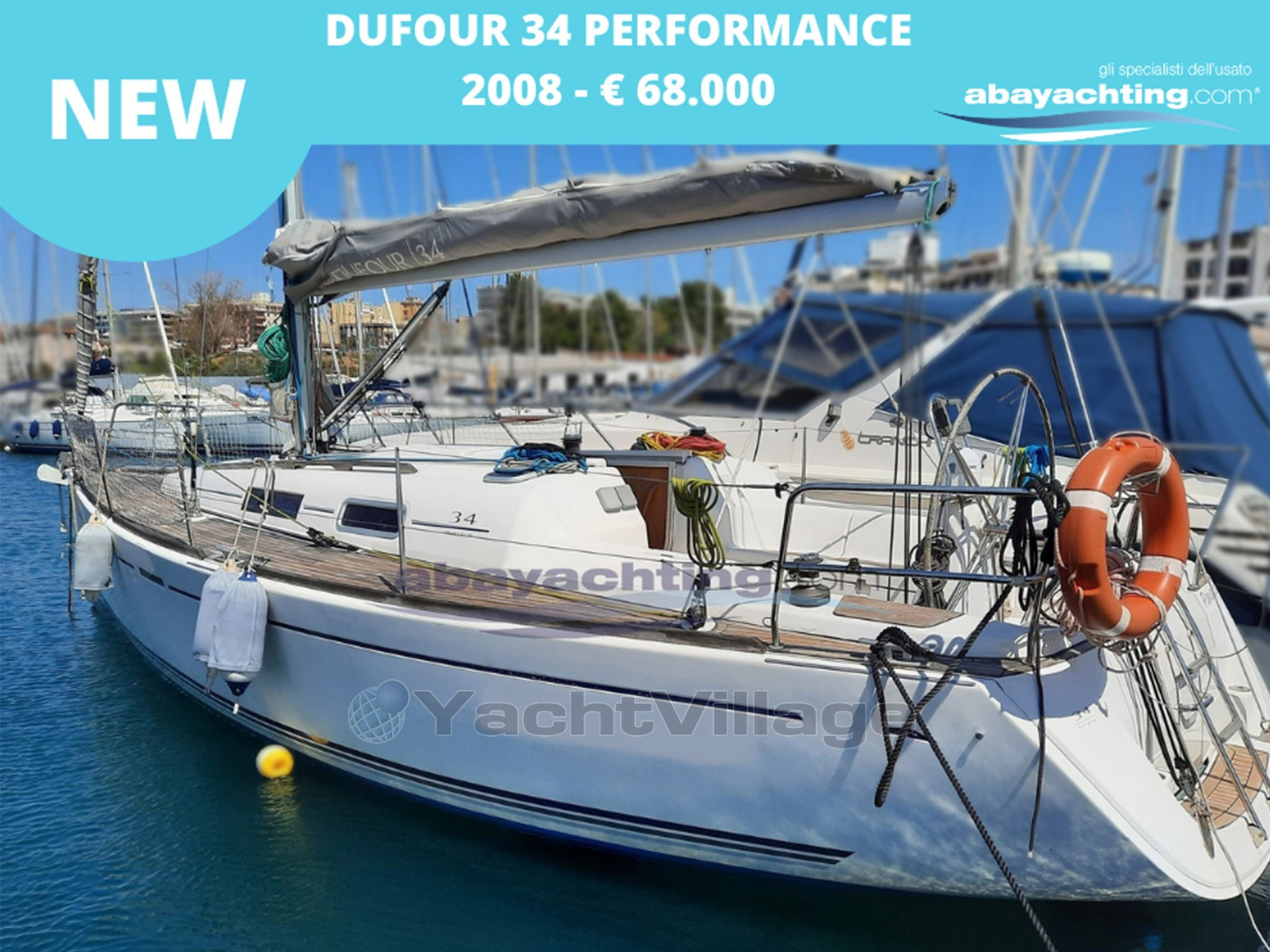 Abayachting Nuovo arrivo Dufour 34 Performance