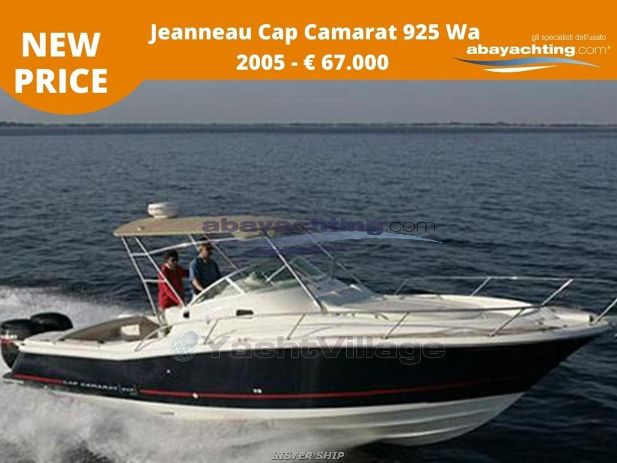 Jeanneau Cap Camarat 925 usato Abayachting