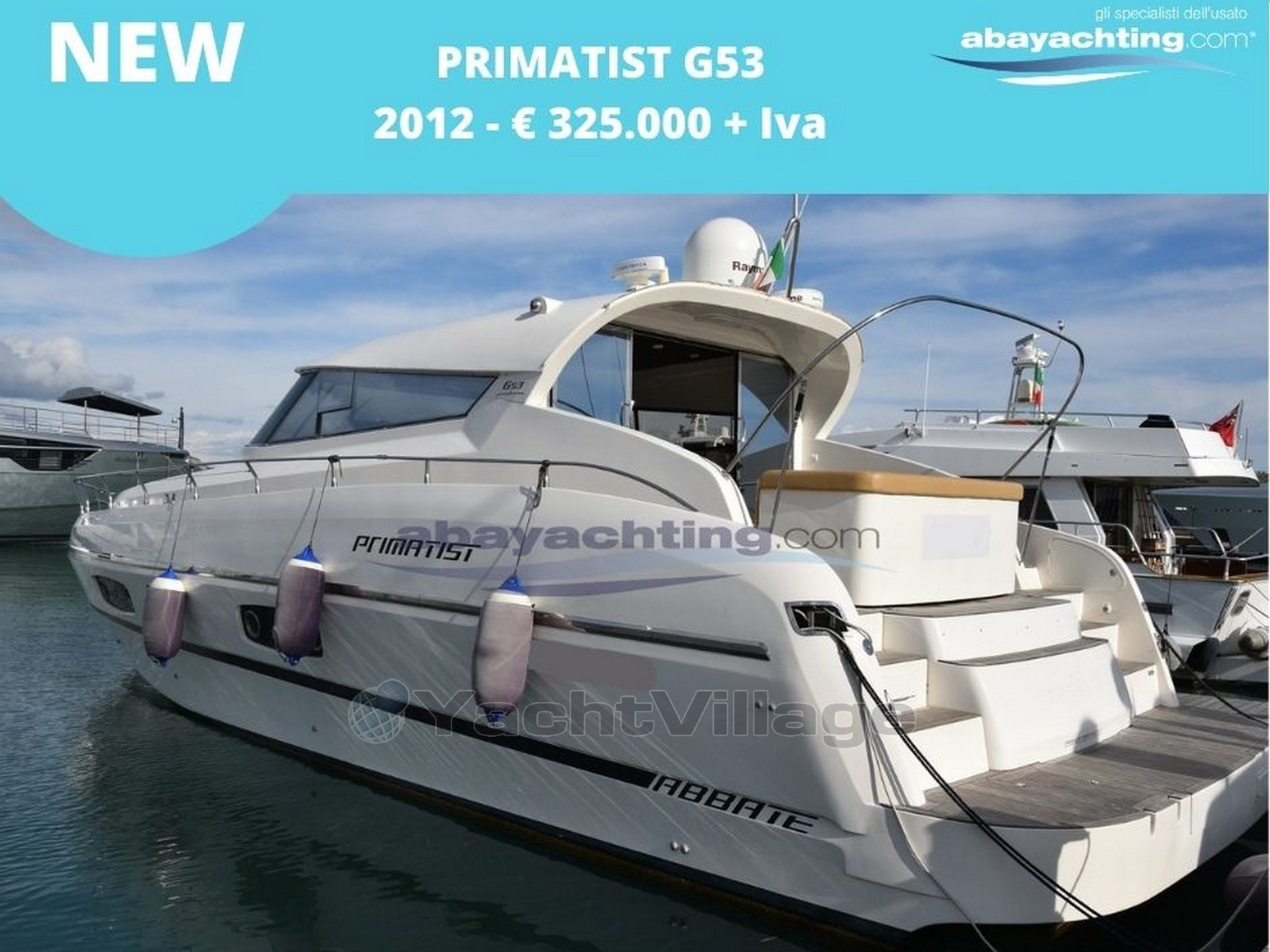 nUOVO ARRIVO PRIMATIST G53 Abayachting
