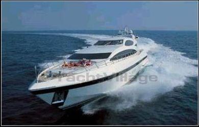 Mangusta 107 yachts