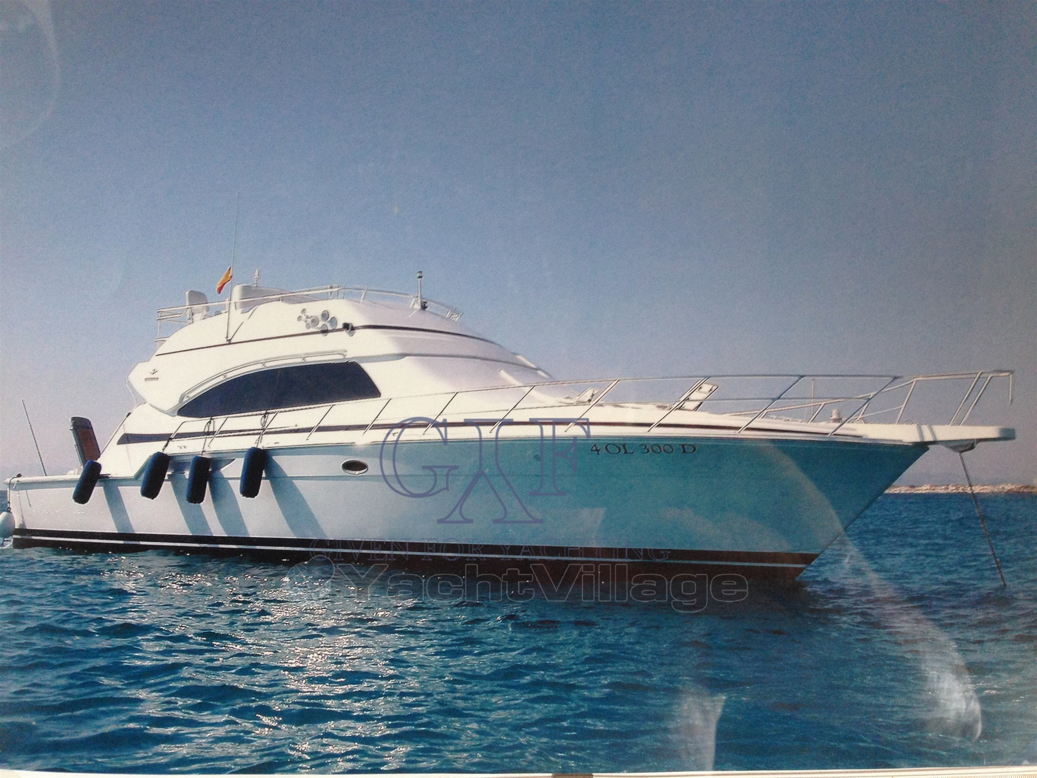 Bertram 510 Conv profile