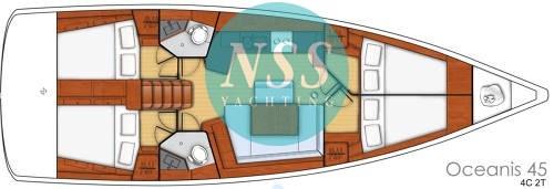 Beneteau Oceanis 45 - Barca a vela - foto 19