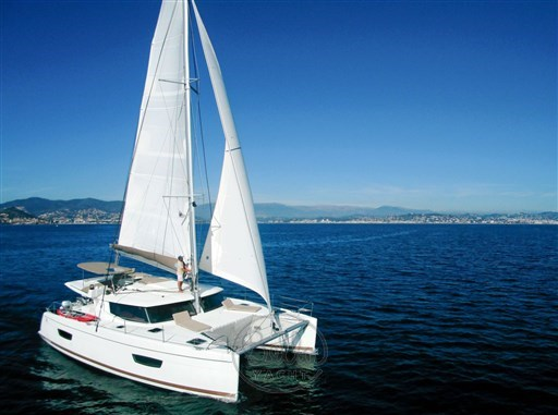 Helia 44 a vendre acheter -BELLA YACHT - catamaran occasion - pre owned catamaran- sail