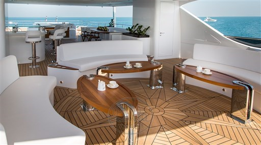 Majesty140- a vendre -yacht -luxe- Cannes- Monaco -St Tropez- Gulf craft - Bella yacht-tea