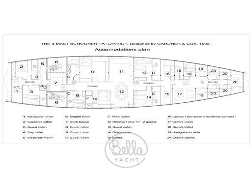 20 - Atlantic - Bella Yacht - Mathieu Gueudin - Yacht Broker - Sell - Buy - Charter - Management - Monaco - Cannes - Saint Tropez