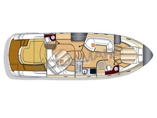 Sessa Oyster 42 layout
