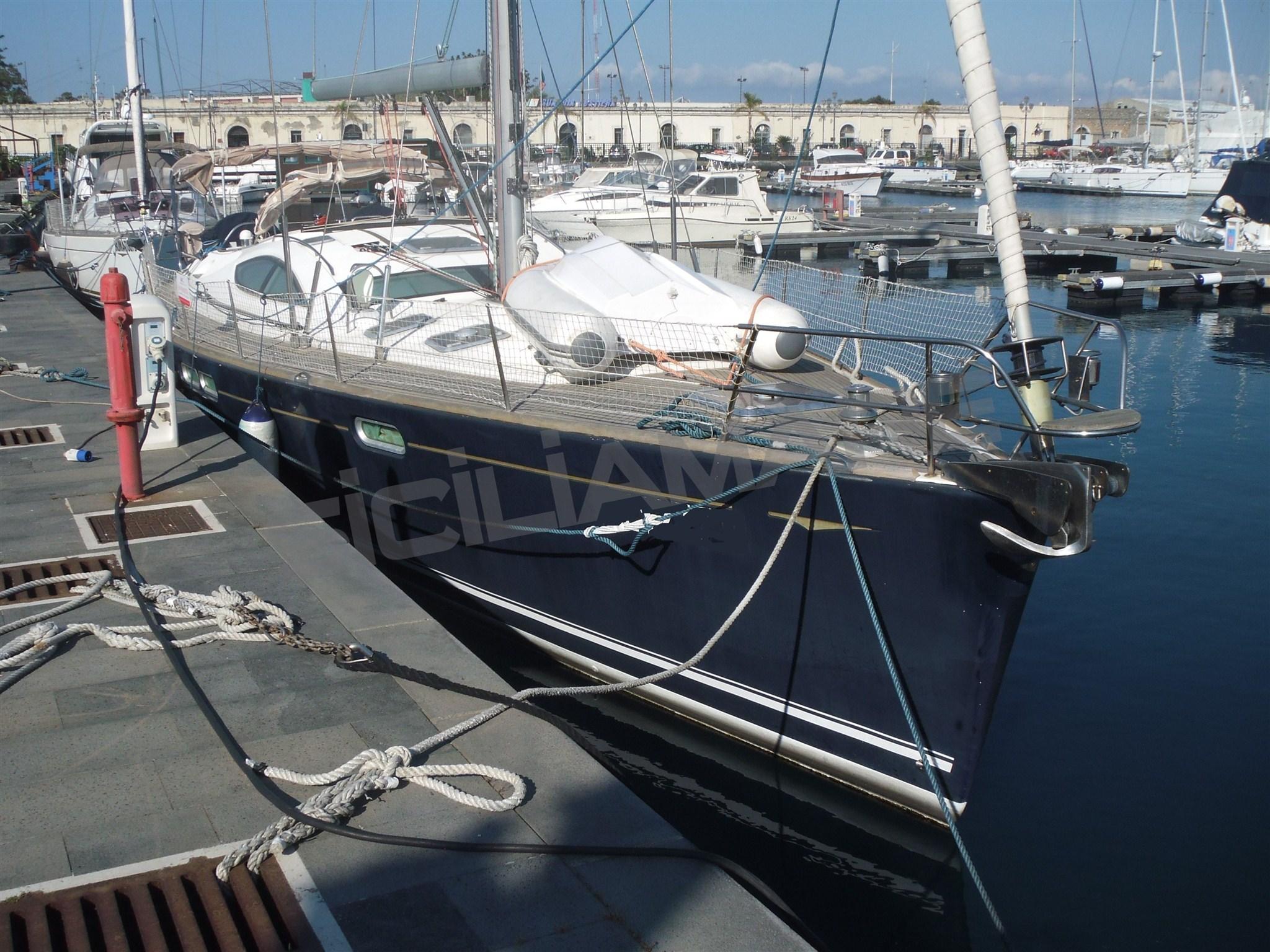 Jeanneau Sun Odyssey 54 Ds Preowned Sailboat For Sale In Sicilia